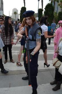 San Diego Comic Con 2013 Zombie Walk Jill Valentine