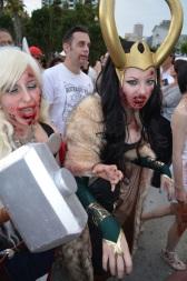 San Diego Comic Con 2013 Zombie Walk Loki