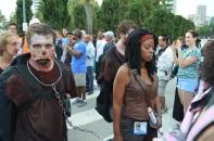 San Diego Comic Con 2013 Zombie Walk Michonne The Walking Dead