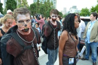 San Diego Comic Con 2013 Zombie Walk Michonne