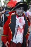 San Diego Comic Con 2013 Zombie Walk Pirate