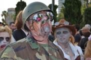San Diego Comic Con 2013 Zombie Walk Soldier