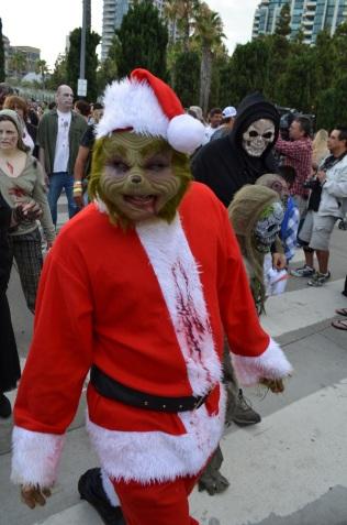 San Diego Comic Con 2013 Zombie Walk The Grinch