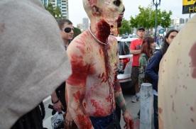 San Diego Comic Con 2013 Zombie Walk The Walking Dead