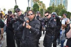 San Diego Comic Con 2013 Zombie Walk Umbrella Resident Evil