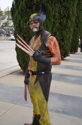 San Diego Comic Con 2013 Zombie Walk Wolverine