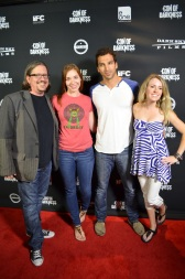 SDCC 2013 Con of Darkness Red Carpet Caitlin Williams