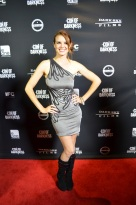 SDCC 2013 Con of Darkness Red Carpet Catherine Annette
