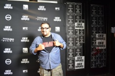 SDCC 2013 Con of Darkness Red Carpet Christian Sesma