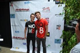 SDCC 2013 NOH8 Adam Bouska and Jeff Parshley