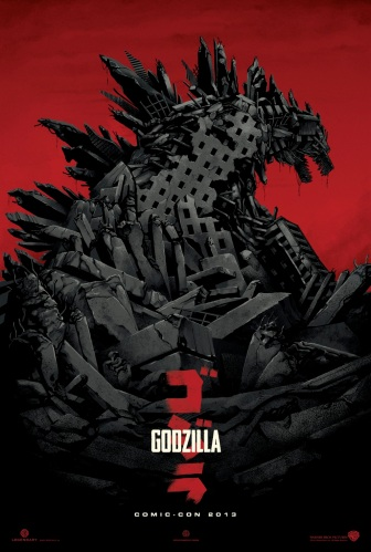 Comic-Con 2013 Godzilla Mondo Poster