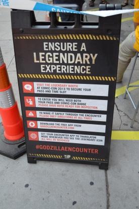 Comic-Con Legendary Pictures Godzilla Experience 1