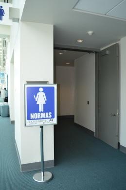 San Diego Comic Con 2013 Bates Women's Bathroom