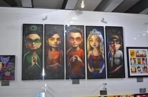 San Diego Comic-Con 2013 Big Bang Theory Art
