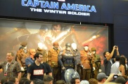 San Diego Comic-Con 2013 Captain America The Winter Soldier Booth Reveal