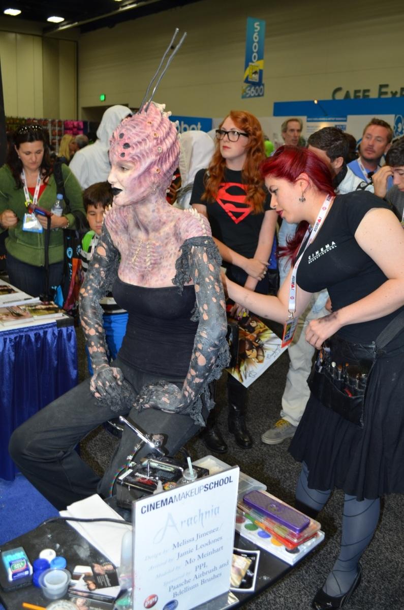 San Diego Comic-Con 2013 Cinema Makeup School 2