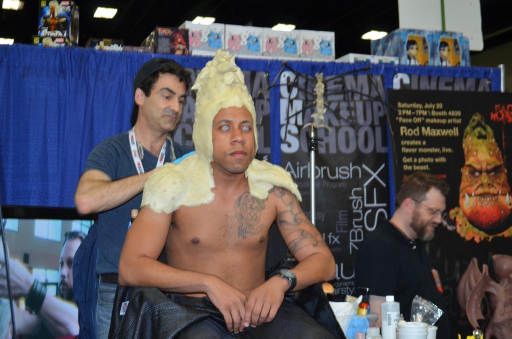 San Diego Comic-Con 2013 Cinema Makeup School