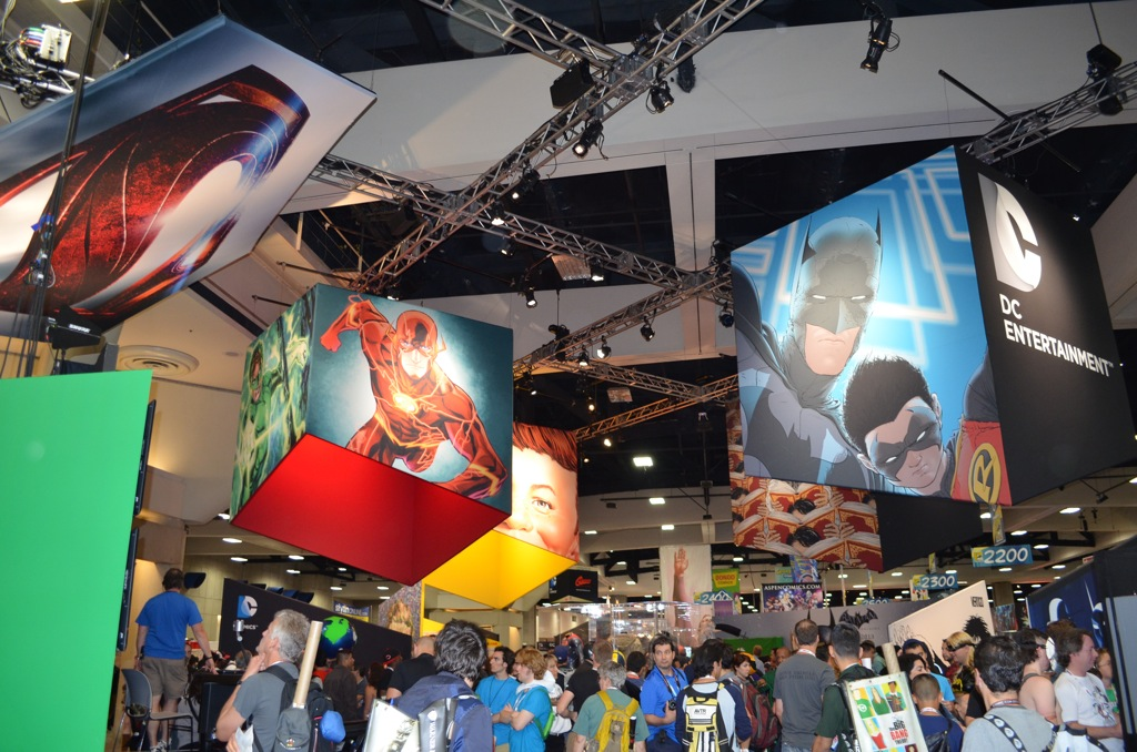 San Diego Comic-Con 2013 DC Entertainment Booth