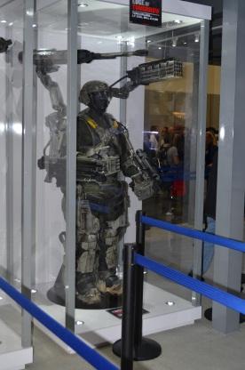 San Diego Comic-Con 2013 Edge of Tomorrow Armor