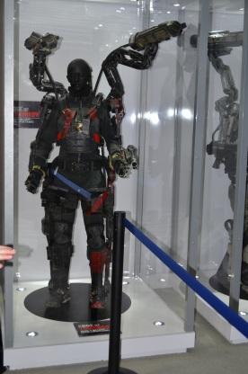 San Diego Comic-Con 2013 Edge of Tomorrow Suit