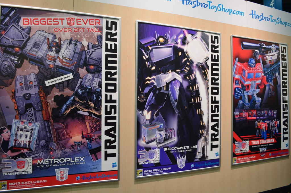 San Diego Comic-Con 2013 Hasbro Transformers Posters