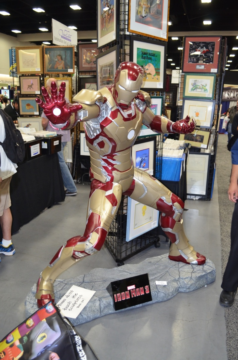 San Diego Comic-Con 2013 Iron Man 3 Mark 42