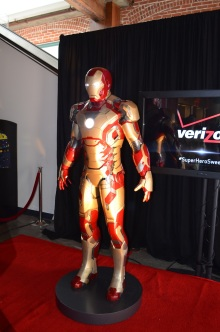 San Diego Comic-Con 2013 Iron Man Mark 42