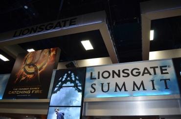 San Diego Comic-Con 2013 Lionsgate Booth