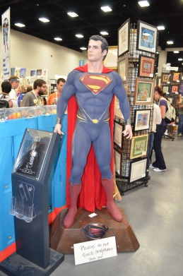 San Diego Comic-Con 2013 Man of Steel Replica