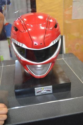 San Diego Comic-Con 2013 Power Ranger Helmet