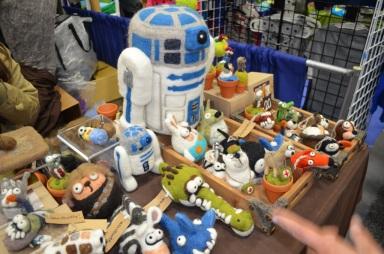 San Diego Comic-Con 2013 R2-D2 Woolbuddy