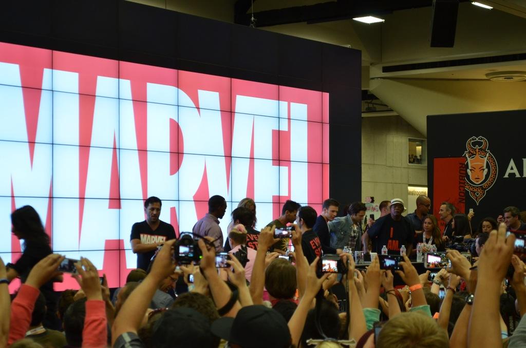 San Diego Comic-Con 2013 Samuel L. Jackson Marvel