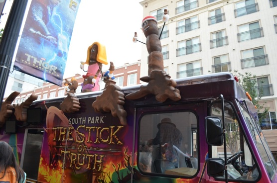San Diego Comic-Con 2013 South Park the Stick of Truth Truck