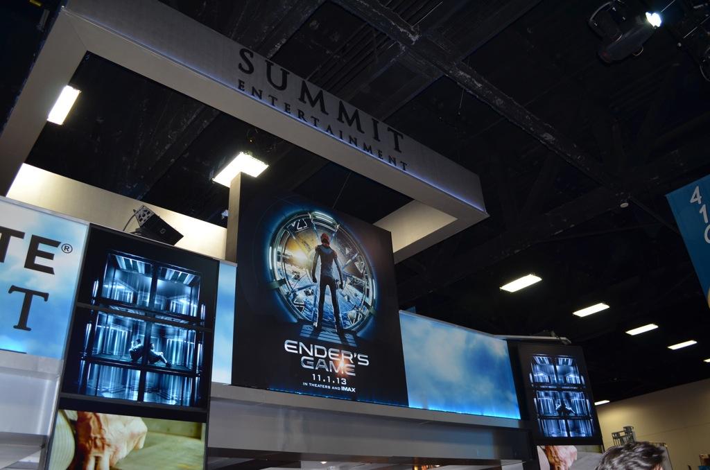 San Diego Comic-Con 2013 Summit Entertainment Booth