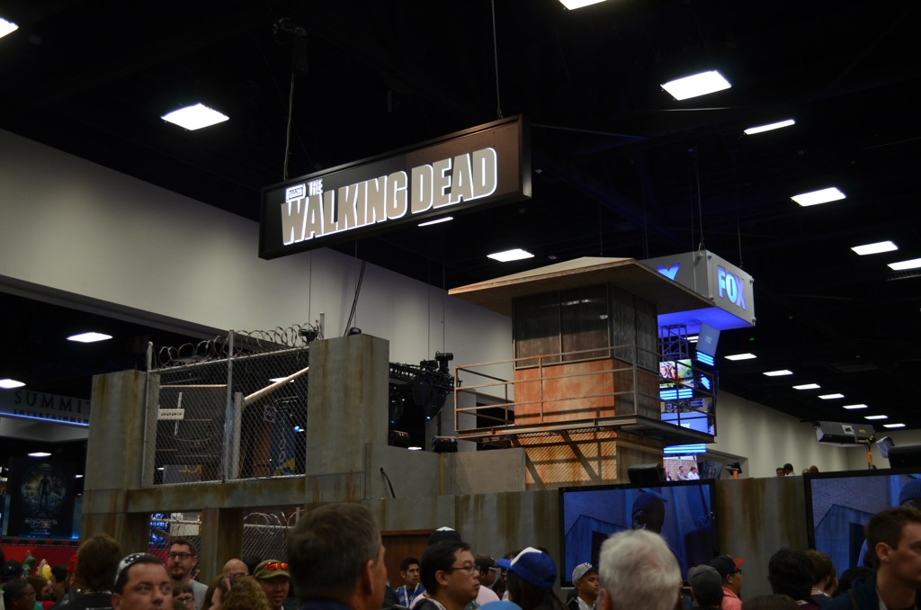 San Diego Comic-Con 2013 The Walking Dead Booth