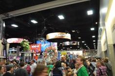 San Diego Comic Con 2013 Thursady Convention Floor