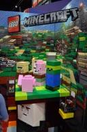 San Diego Comic Con 2013 Thursady LEGO Mine Craft