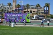 San Diego Comic Con 2013 Thursady MTV 2 Party in the Park