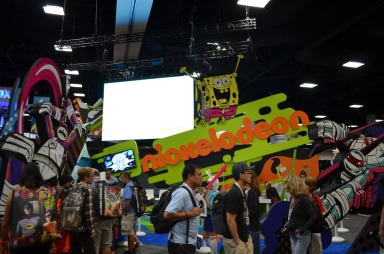 San Diego Comic Con 2013 Thursady Nickelodeon Booth