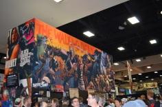 San Diego Comic Con 2013 Thursady The Walking Dead Comic Art