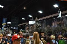 San Diego Comic Con 2013 Thursady Weta Booth