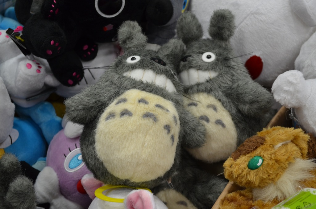 San Diego Comic-Con 2013 Totoro Plushies