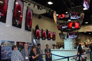 San Diego Comic-Con 2013 Warner Bros Booth