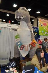 San Diego Comic-Con 2013 Woolbuddy T-Rex