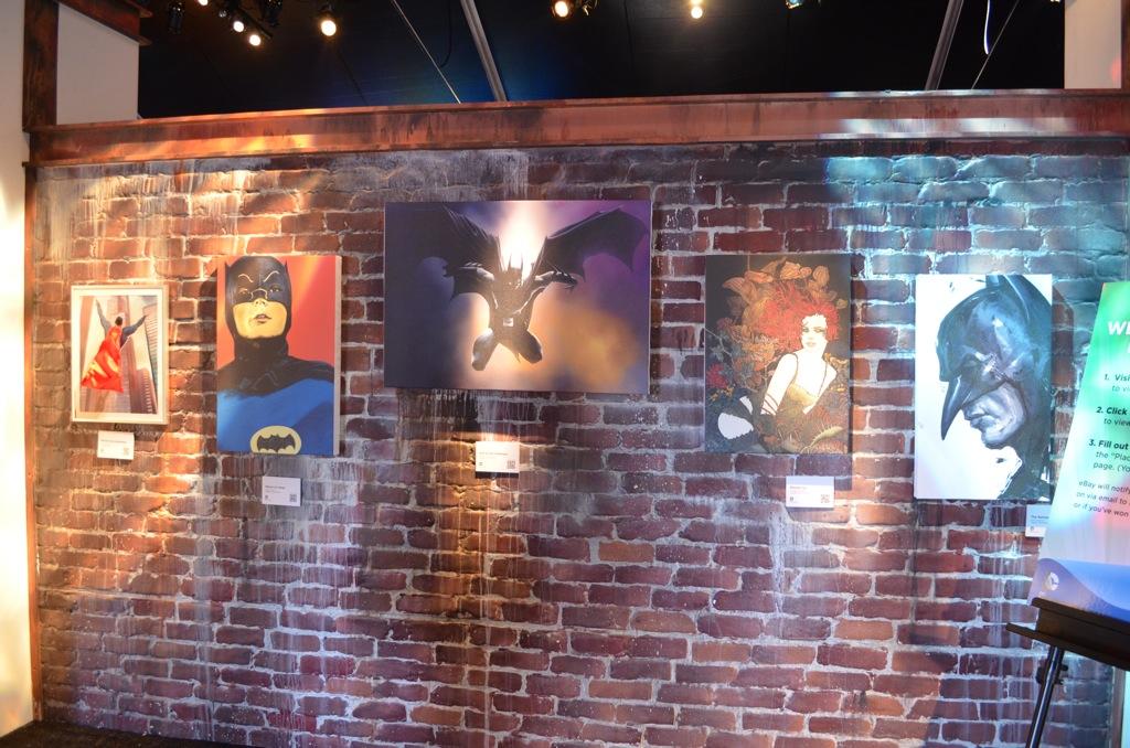 San Diego Comic-Con Batman Art DC