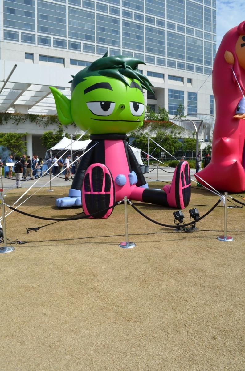 San Diego Comic-Con Beast Boy Teen Titan
