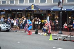 San Diego Comic-Con Captain America Bum