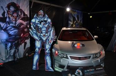 San Diego Comic-Con Cyborg Forte Car