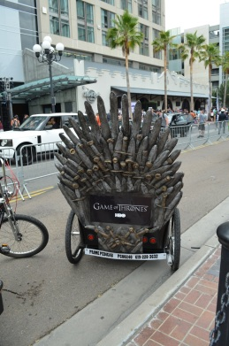 San Diego Comic-Con Game of Thrones PediCab