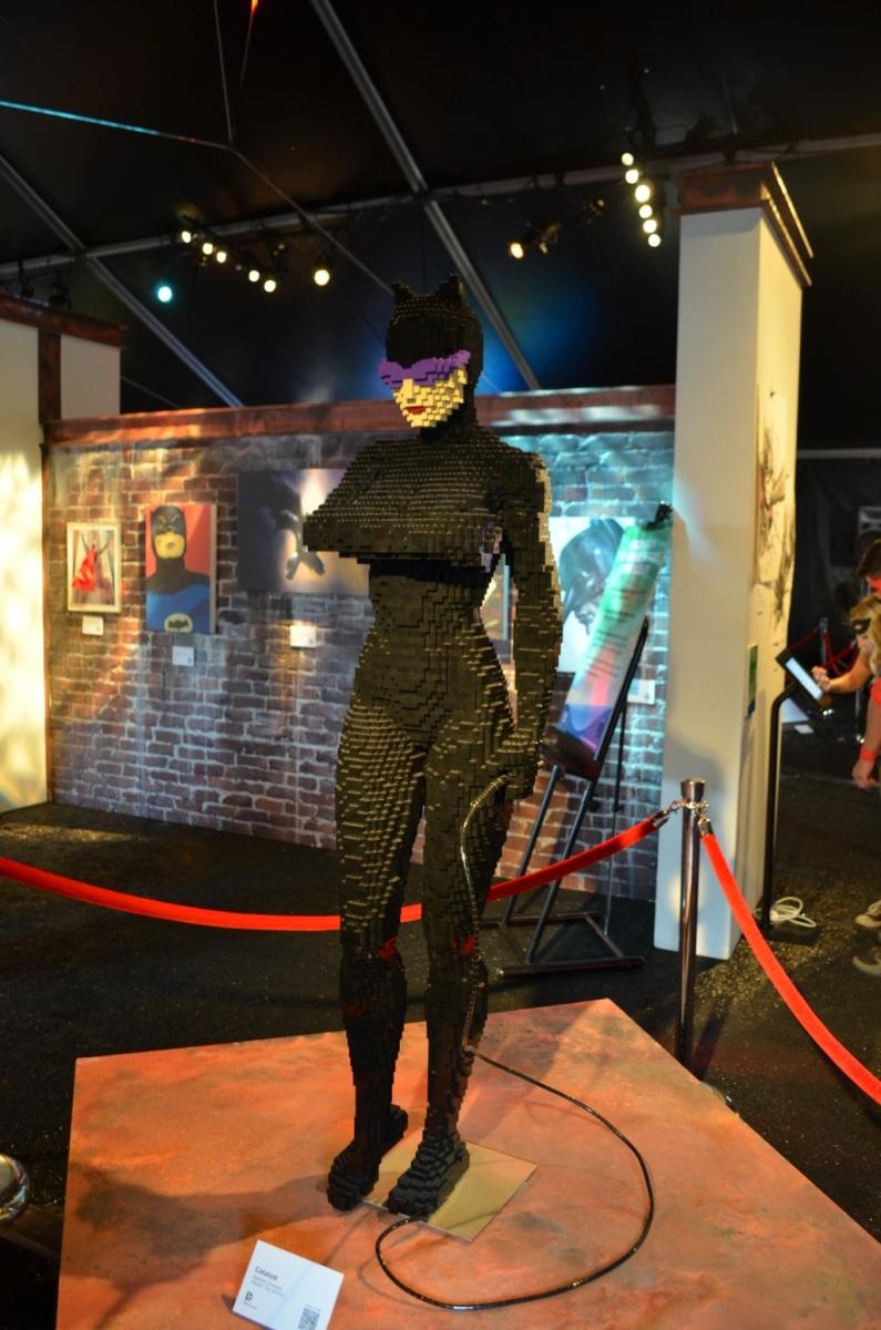 San Diego Comic-Con LEGO Catwoman